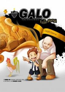 capa final Livro Frente 212x300 Galo lança revista e livro em estilo Mangá