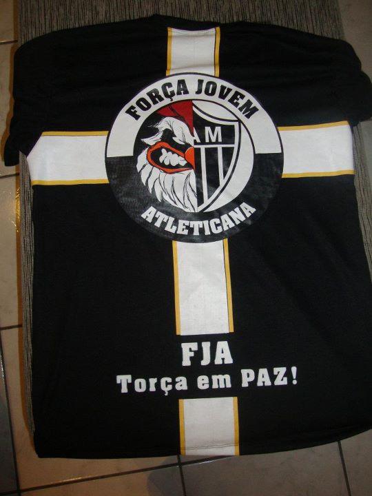 f8b92dc8e3 Força Jovem Atleticana lança camisas - Camisa Doze