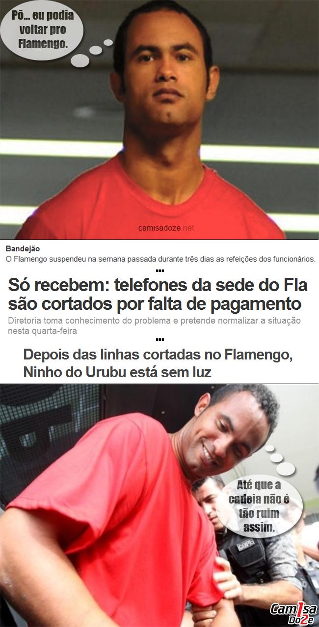 Bruno McVish A prisão e o Flamengo