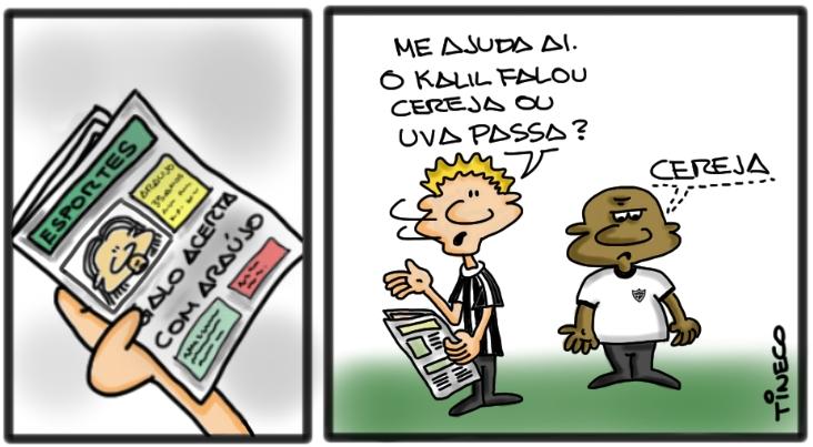 Araujo2 Araújo e a dúvida