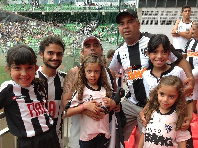 IMG 0393 Atlético 3x1 Guarani   Eu na Arquibancada (parte 1)