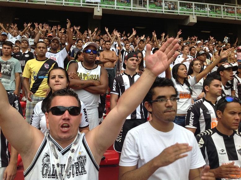IMG 17521 Atlético 3x1 Guarani   Eu na Arquibancada (parte 2)