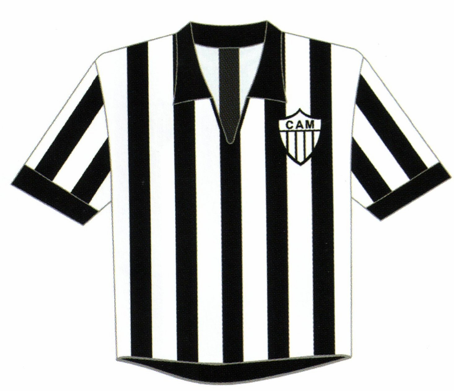 A Camisa Mais Bonita Na Historia Do Clube Atletico Mineiro 6ª Fase 1960 1969 Camisa Doze