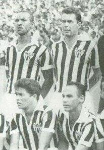 1963 A CAMISA MAIS BONITA NA HISTÓRIA DO CLUBE ATLÉTICO MINEIRO (6ª FASE   1960/1969)
