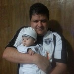 Eu e meu filho Victor)